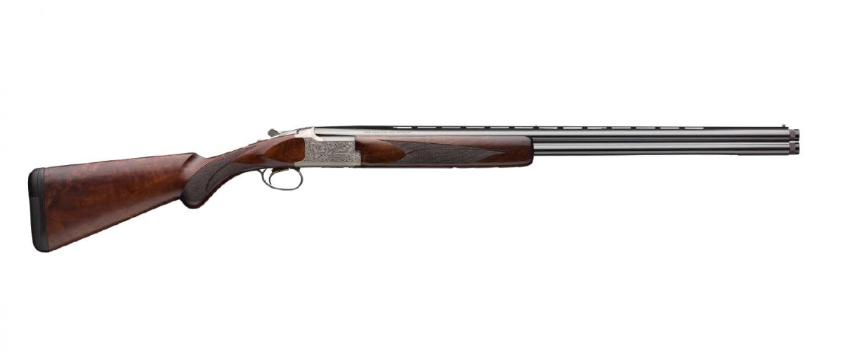 Browning 018142605 Citori White Lightning 20 Gauge 26in. 2 3in. Silver Nitride Oil Black Walnut Right Hand