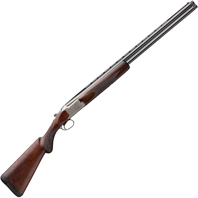 Browning 018142604 Citori White Lightning 20 Gauge 28in. 2 3in. Silver Nitride Oil Black Walnut Right Hand