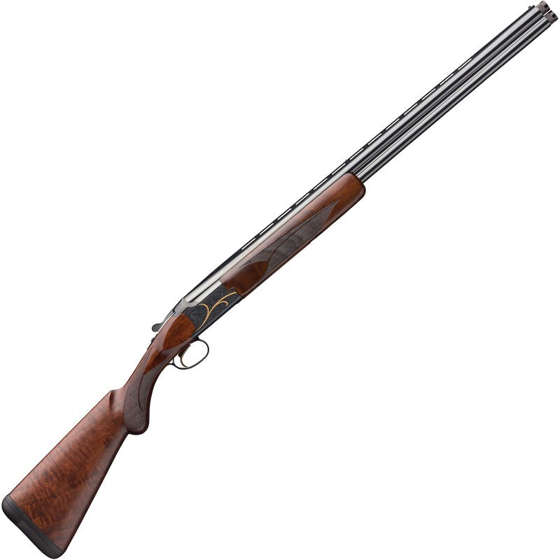 Browning 018117913 Citori Gran Lightning 410 Gauge 28in. 2 3in. Blued Fixed Checkered Stock Satin Black Walnut Right Hand