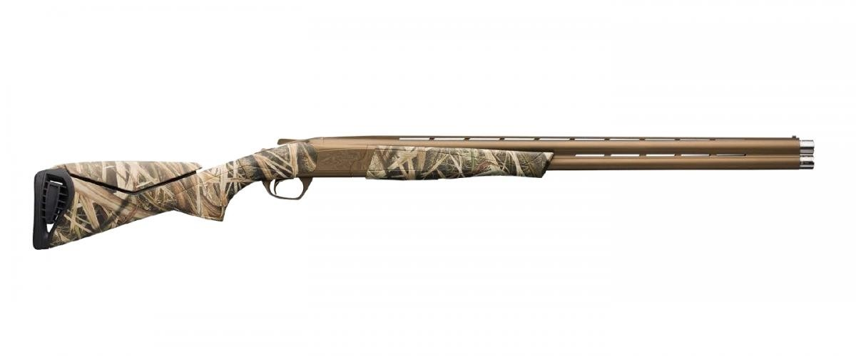 """Browning 018718204 Cynergy Wicked Wing 12 Gauge 28"""" 2 3.5"""" Burnt Bronze Cerakote Fixed w/Adjustable Comb Stock Mossy Oak Shadow Grass Blades Right Hand"""