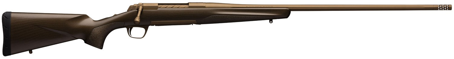 Browning X-Bolt Pro 300 RUM 3+1 26in. Burnt Bronze Cerakote Fixed w/Textured Gripping Panels Stock Right Hand
