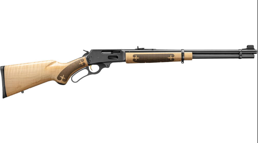 Marlin 70527 336  Lever 30-30 Winchester 20 6+1 Curly Maple Stk Blued in.