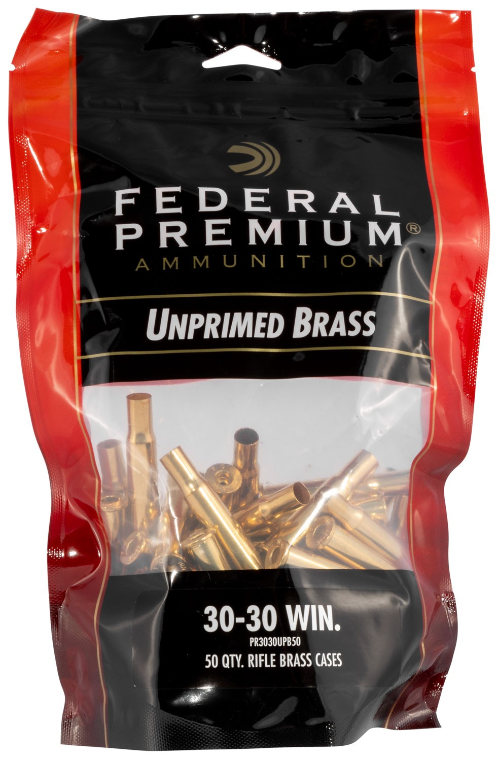 Federal PR3030UPB50 Gold Medal Rifle 30-30 Winchester Brass 50