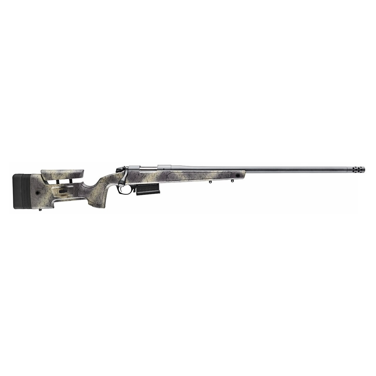 Bergara Rifles B-14 HMR Wilderness 300 Win Mag 5+1 26in. Woodland Camo Molded w/ Mini-Chassis Stock Matte Blued Right Hand