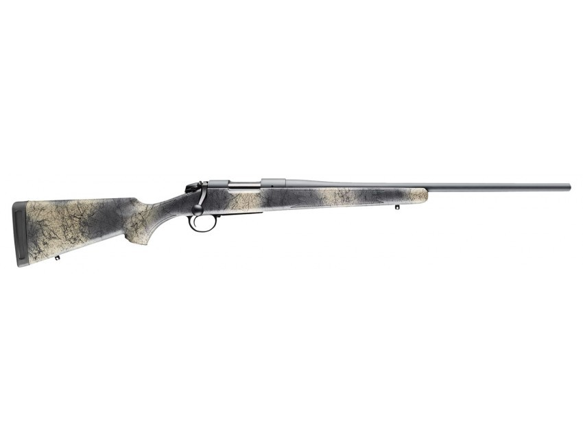 Bergara Rifles B-14 Hunter Wilderness 300 Win Mag 5+1 26in. Woodland Camo Molded w/ Mini-Chassis Stock Matte Blued Right Hand