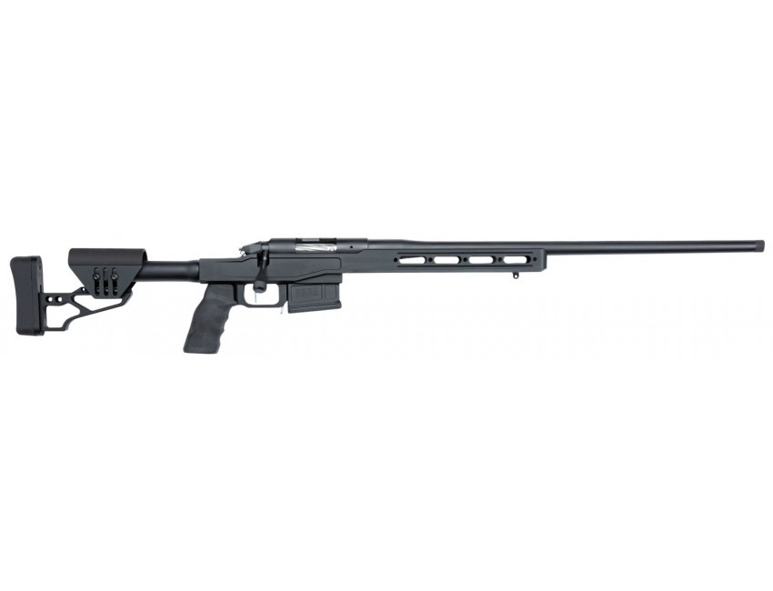 Bergara Rifles Premier LRP 2.0 300 Win Mag 24in. 5+1 Black Anodized XLR Element Chassis 3.0 Stock