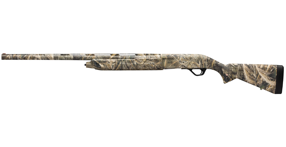 Winchester Guns 511207292 SX4 Waterfowl Semi-Automatic 12 Gauge 28 3.5 in.  Synthetic Stk Realtree Max-5 in.