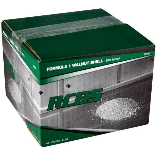RCBS 87067 Case Cleaning Media  Multi-Caliber 12|12 Sieve Size
