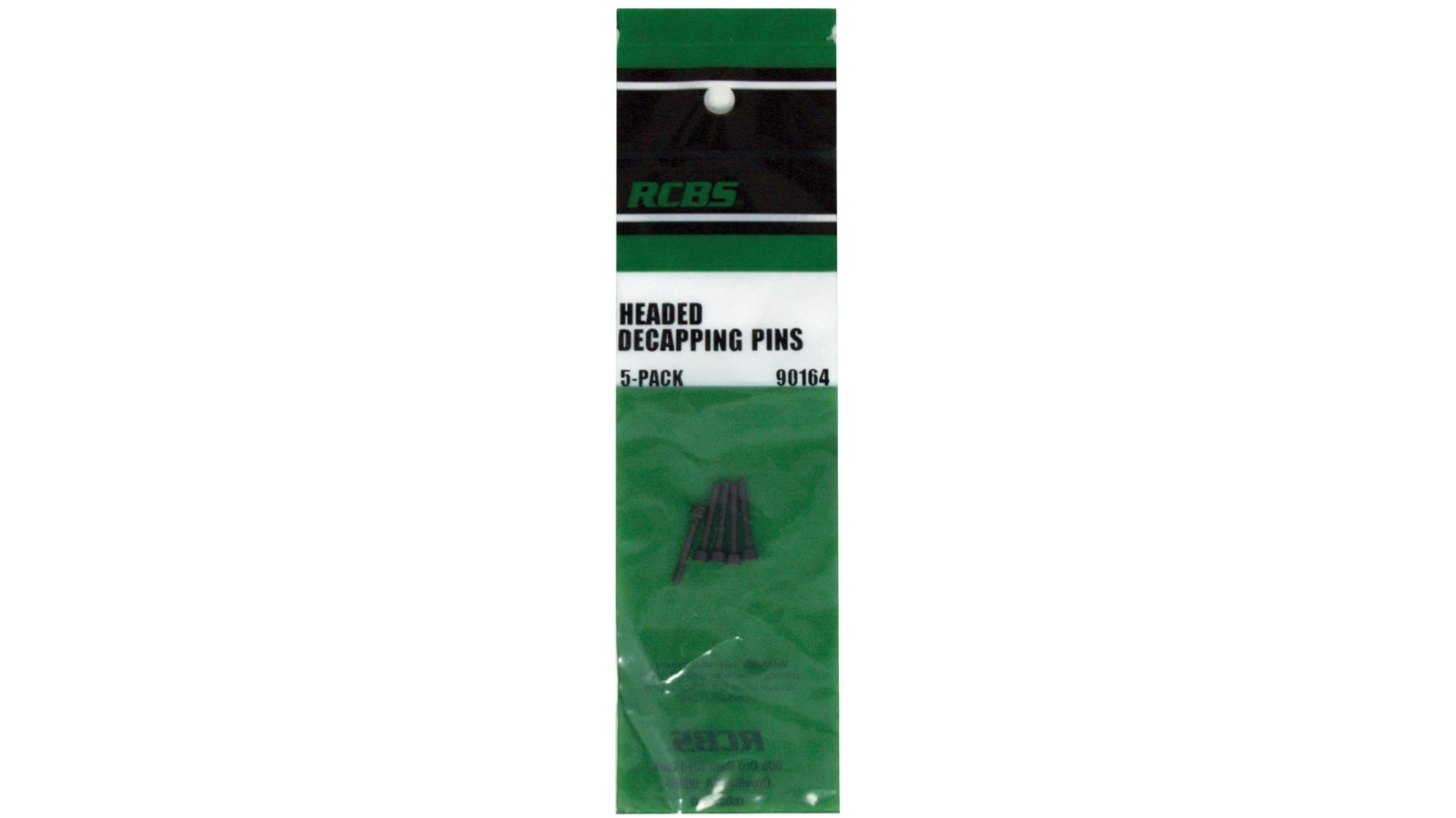 RCBS 90164  Headed Decapping Pin 5 Pack .22 - .45 Universal