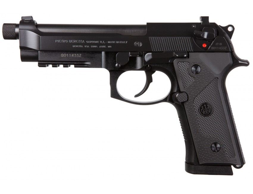 Beretta USA JS92M9A3GNTO M9A3 *NY/NJ Compliant 9mm Luger 5.10in. 10+1 Black Steel Frame/Slide