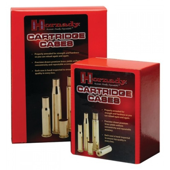 Hornady 8742 Unprimed Cases 40 Smith & Wesson