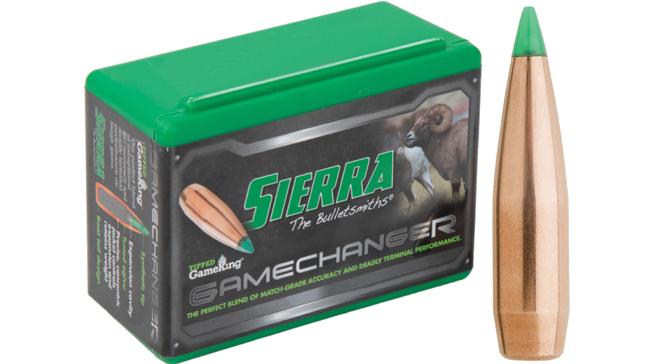 Sierra 4565T Tipped GameKing 7mm .284 165 GR Boat Tail Hollow Point 50 Box