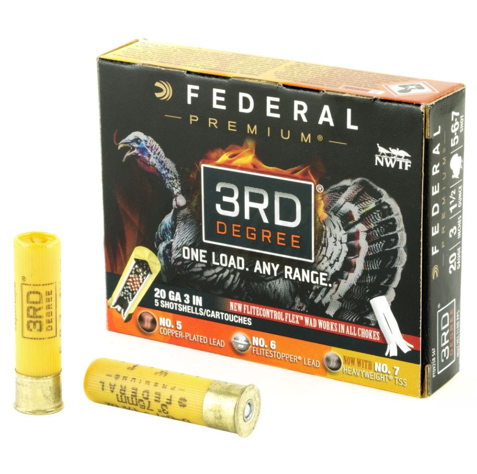 Federal 3RD DEGREE 20GA 3 in.  5/6/7 5/50