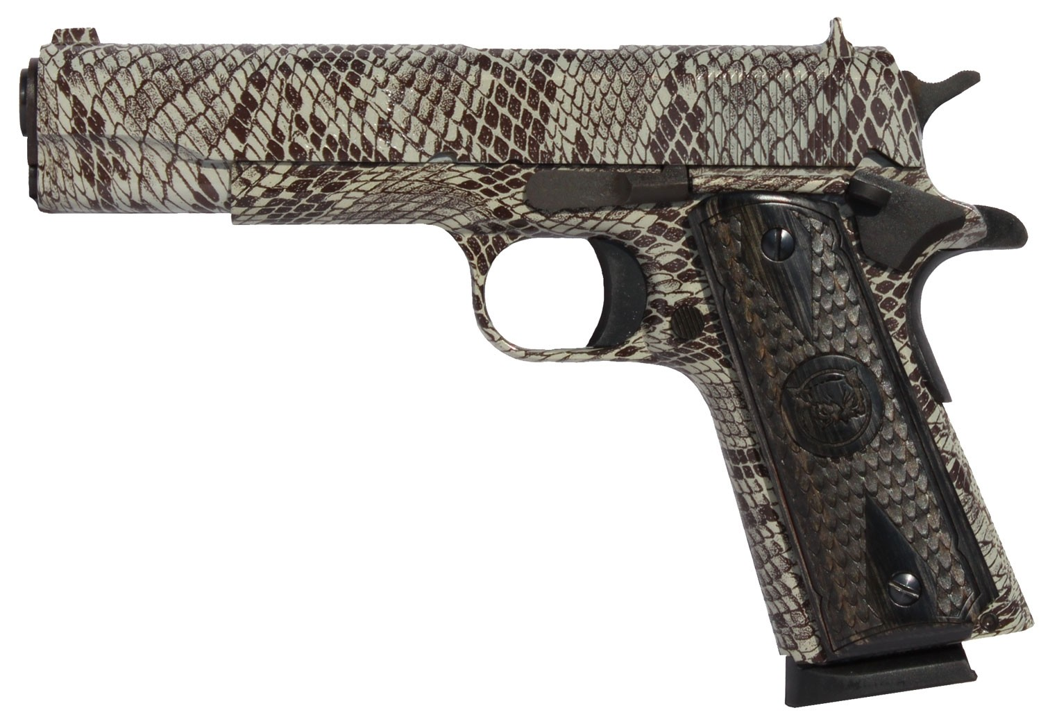 """Iver Johnson Arms 1911A1COPPERHEAD 1911 A1 Government 70 Series 45 ACP Single 5"""" 8+1"""