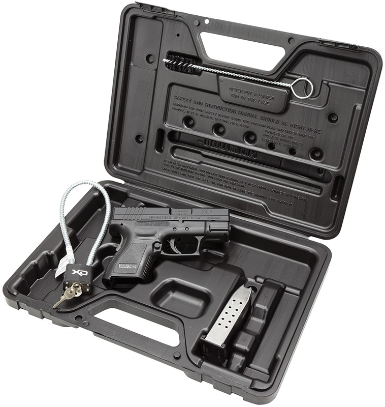 Springfield XD Sub-Compact Essentials Package 9mm Luger