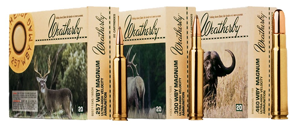 Weatherby Select 240 Weatherby Magnum 20rd Ammo