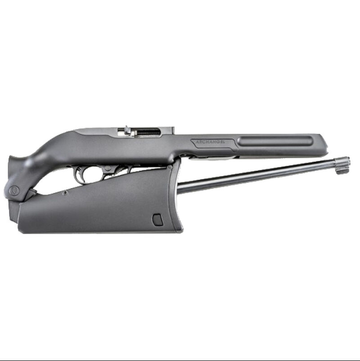 ProMag AAQBD Archangel QBD Ruger 10|22 Stock Converts Standard Model to Takedown Model Black Polymer