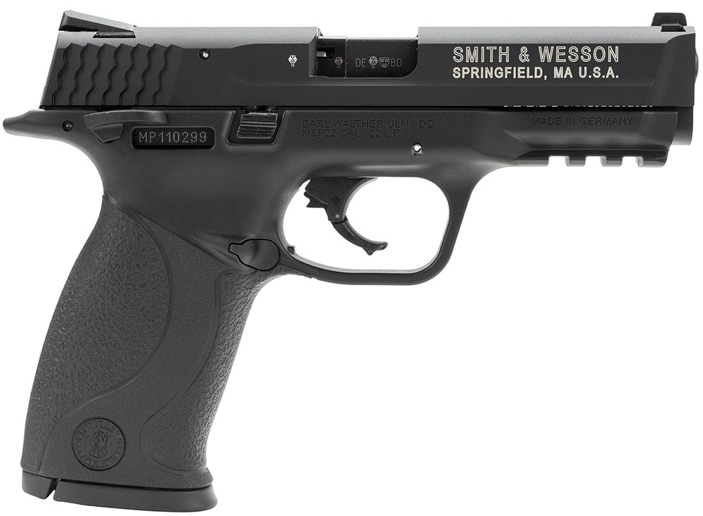 Smith & Wesson M&P22 Threaded Barrel MTS 22 Long Rifle