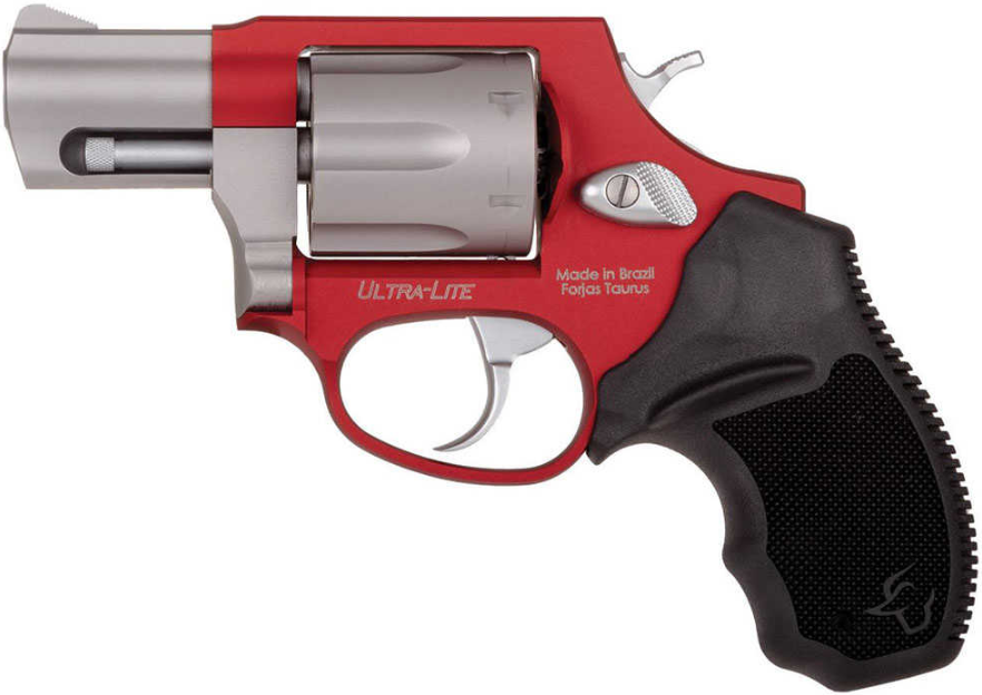 Taurus 2856029ULC13 856 Ultra Lite Revolver 38 Special 2 6 Rd Black Rubber  Grip Burnt Orange Stainless Steel Barrel in