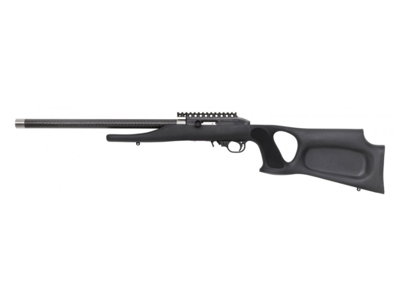 Magnum Research SSAT22G Magnum Lite SwitchBolt Semi-Automatic 22 Long Rifle (LR) 17 10+1 Synthetic Black Thumbhole Stk Black in.
