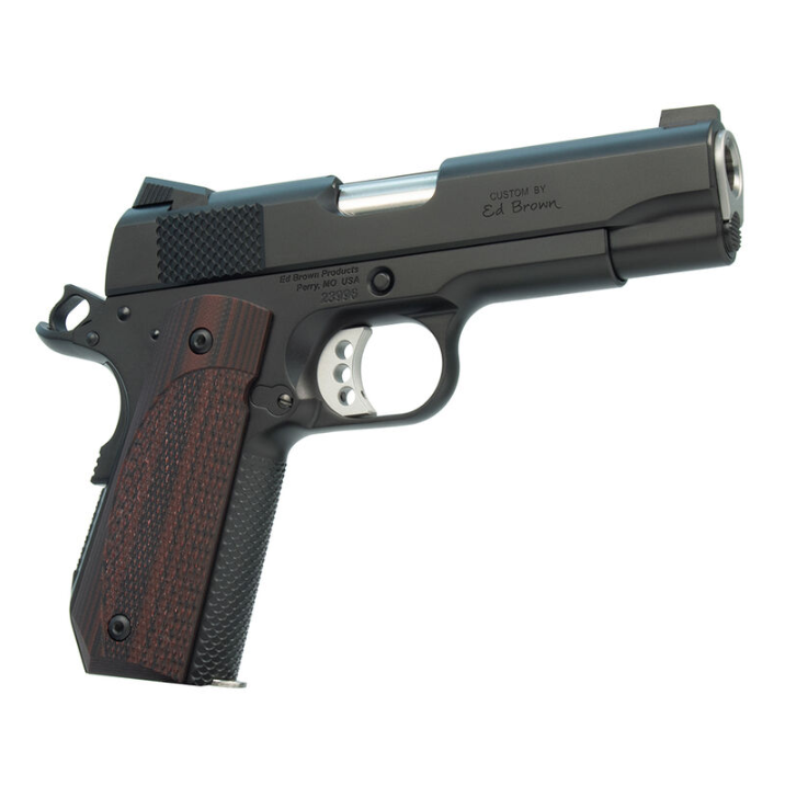 Ed Brown EVOKC9 Evo KC9 9mm Luger Single 4 9+1 Black G10 Grip Stainless Steel Frame |Slide in.