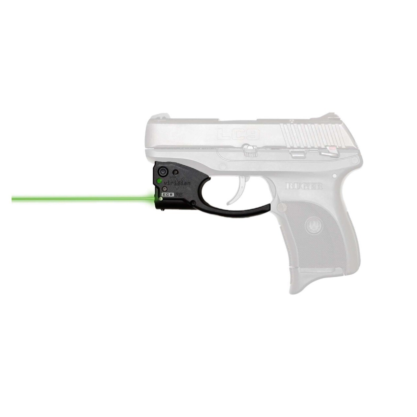 Viridian 9200045 Reactor R5 Gen 2 Green Laser with Holster Black Ruger LCP II