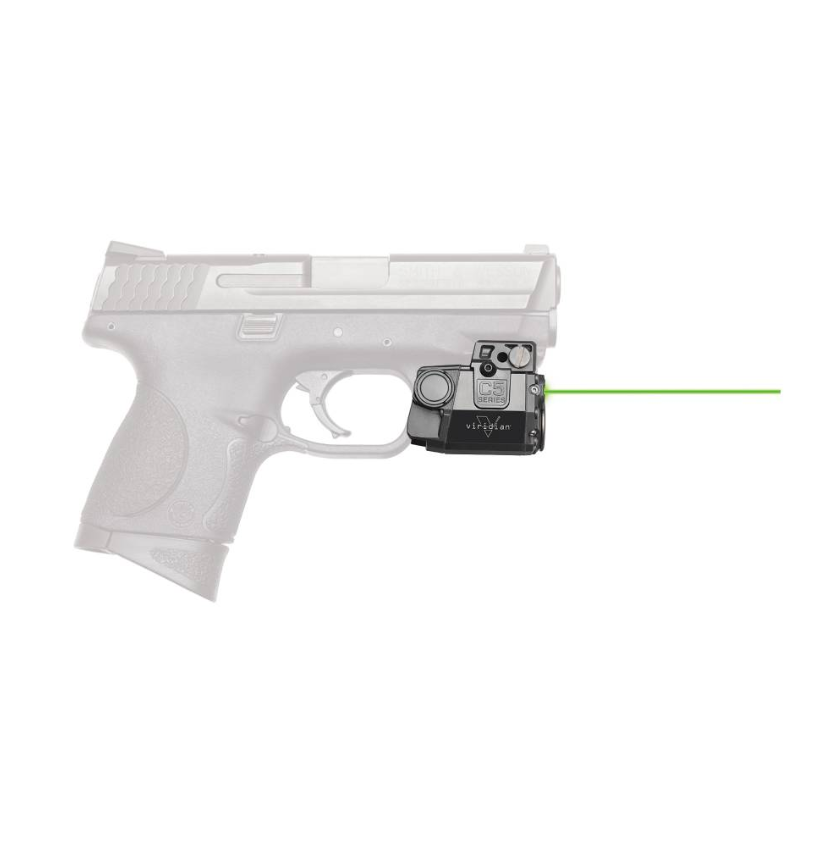 Viridian 9200054 Reactor R5 Gen 2 Green Laser with Holster Black Springfield XD-E