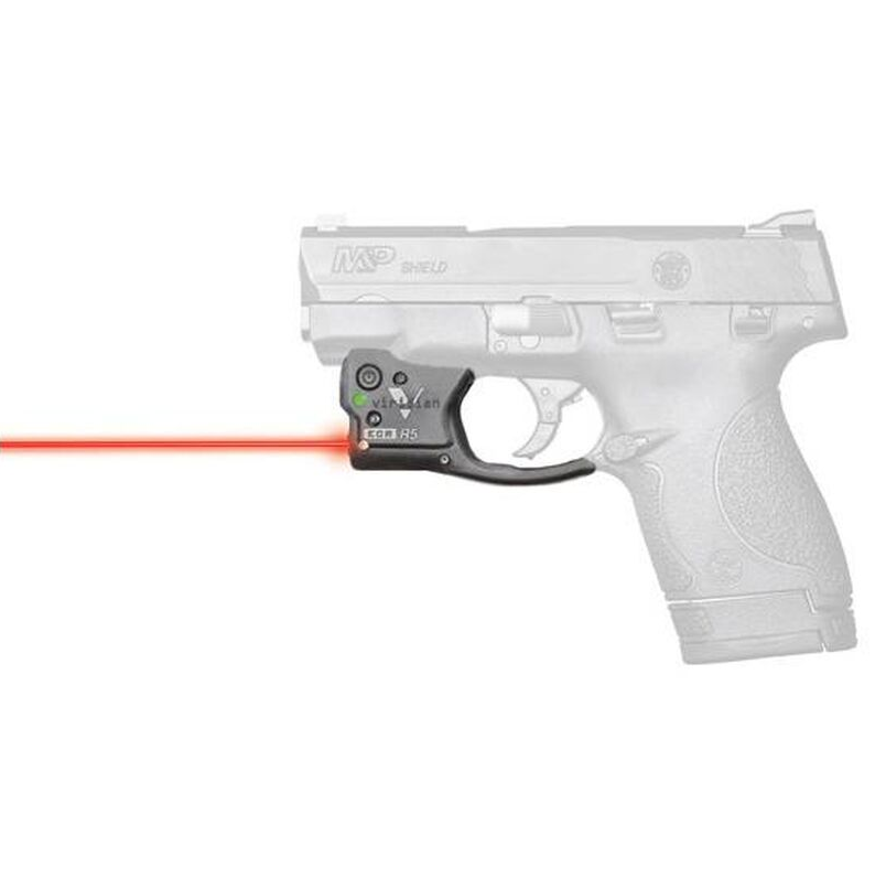 Viridian 9200013 Reactor R5-R Gen 2 Red Laser with Holster Black S&W M&P Shield 9|40