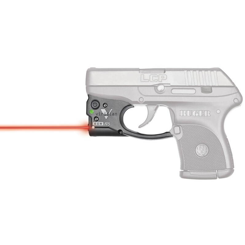 Viridian 9200011 Reactor R5-R Gen 2 Red Laser with Holster Black Ruger LCP