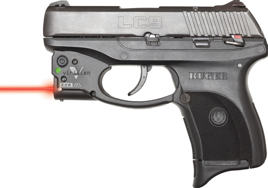 Viridian 9200012 Reactor R5-R Gen 2 Red Laser with Holster Black Ruger LC9|LC380