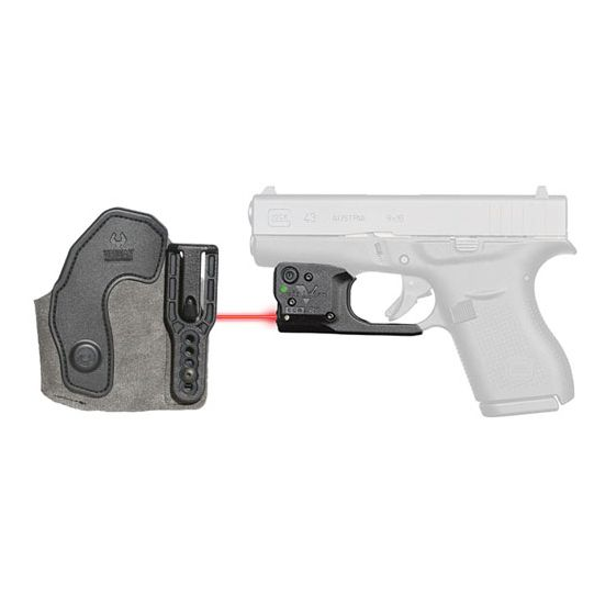 Viridian 9200037 Reactor R5-R Gen 2 Red Laser with Holster Black Glock 43