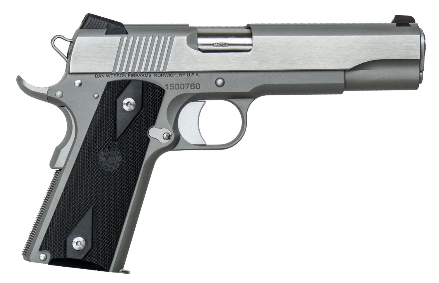 Dan Wesson 01858 Heritage 45 ACP 5in. 8+1 Stainless Steel Cocobolo Grip