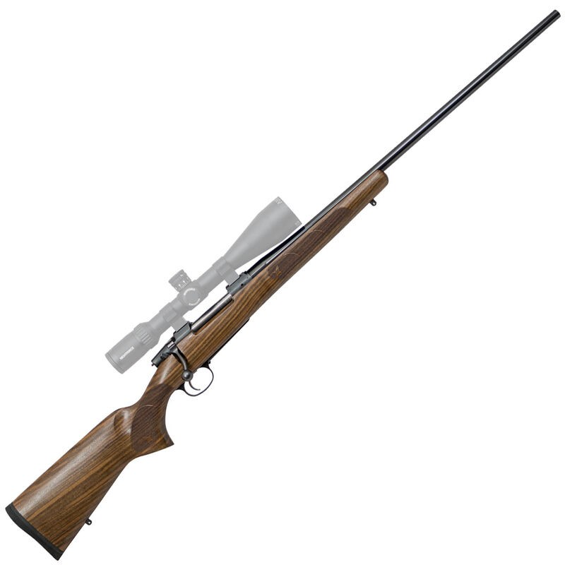 CZ CZ 557 American 270 Win 4+1 24in. Oil Turkish Walnut Fixed American Style Stock Blued Right Hand