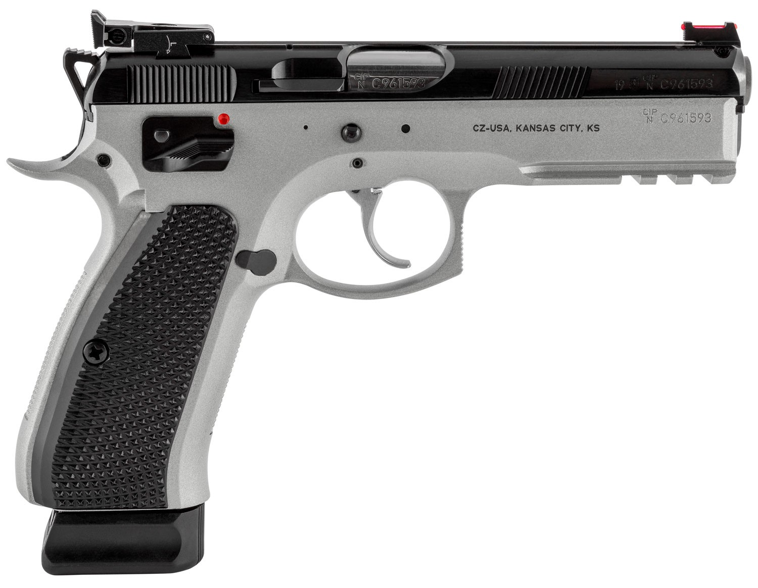 CZ SP-01 Shadow 9mm Luger 19+1 Gray