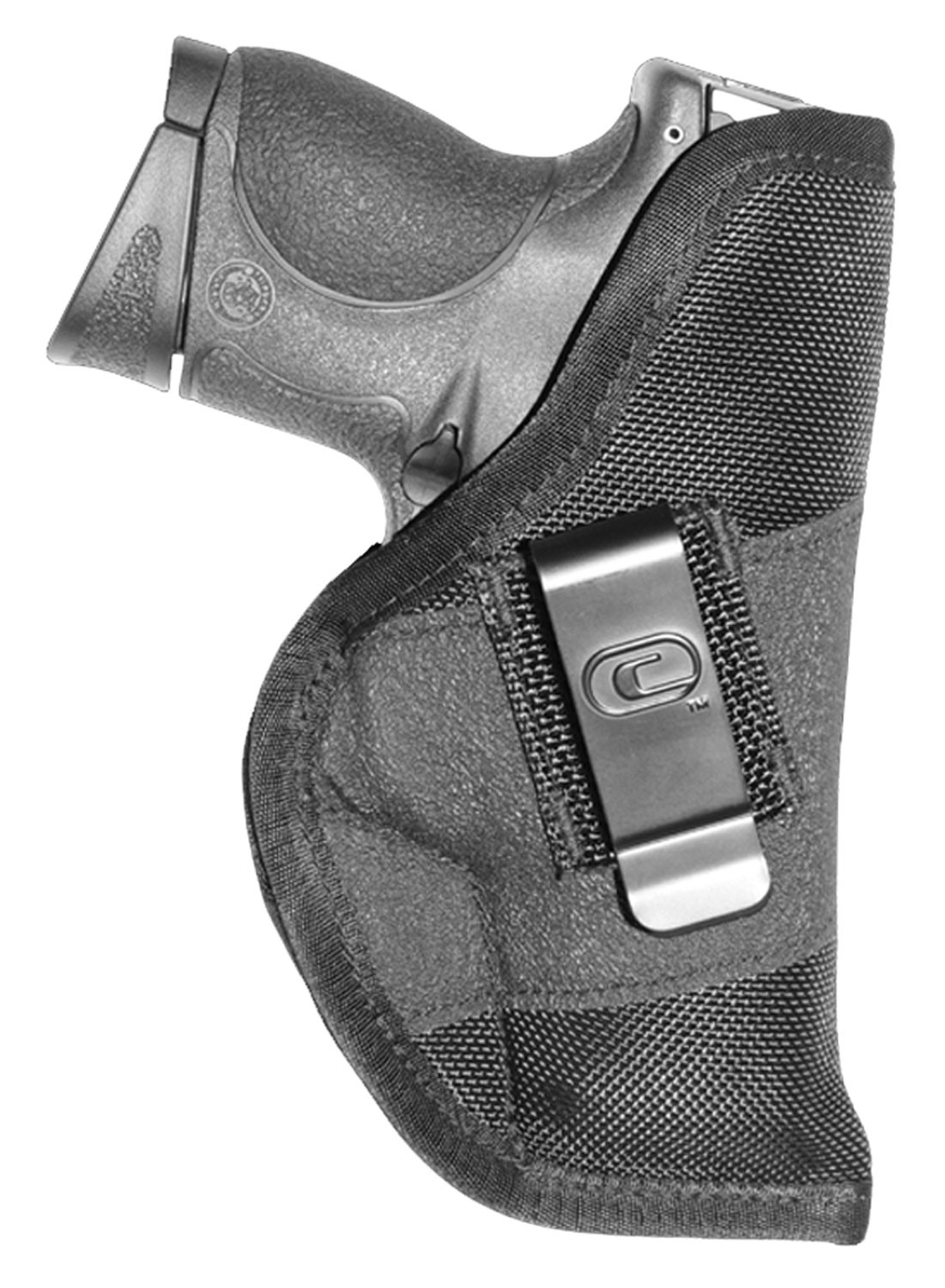 Crossfire CRFGRPCLPSA1M1 Clip-On OWB 1in.-1.5in. Micro 1680D Ballistic Nylon Black
