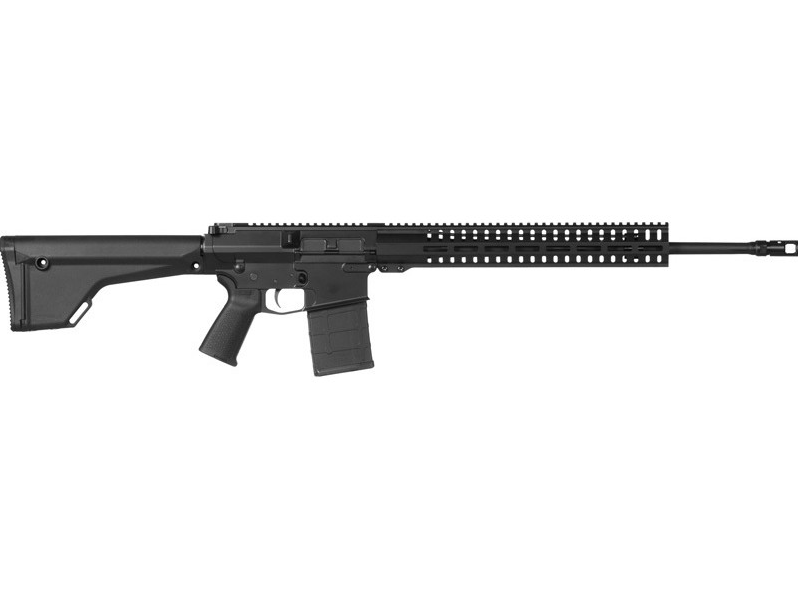 CMMG 65A143A Endeavor 200 MK3 Semi-Automatic 6.5 Creedmoor 20 20+1 Magpul MOE Black Stk Black Hardcoat Anodized in.