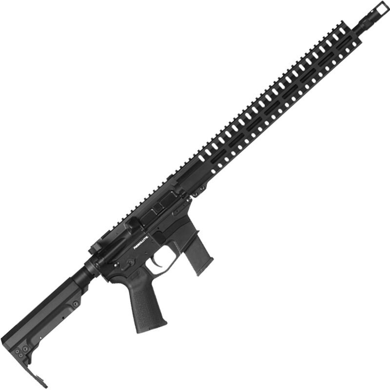 CMMG Resolute 300 9mm Luger 16.10in. 33+1 Black Hard Coat Anodized CMMG 6 Position RipStock Stock