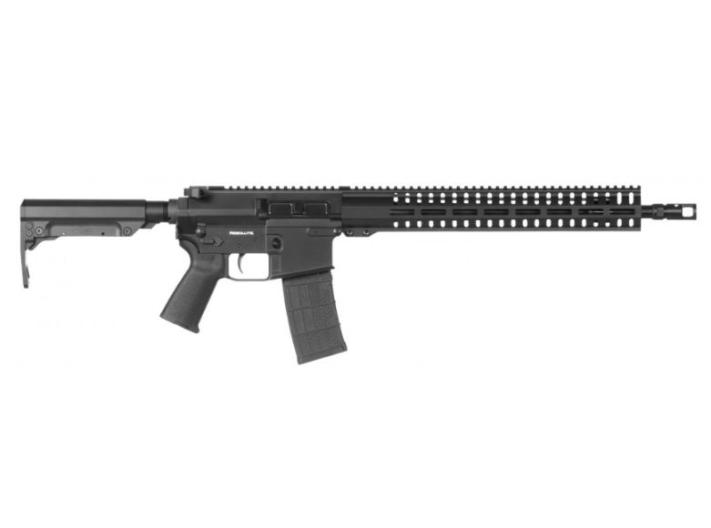 CMMG 48A7A2CGB Resolute 300 MKW-15 Semi-Automatic 458 SOCOM 16.1 10+1 6-Position Black Stk Black Hardcoat Anodized in.