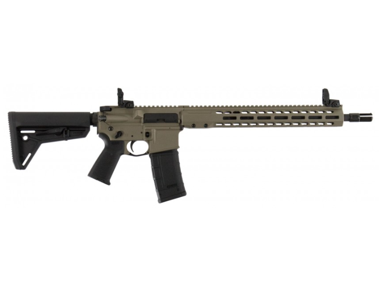 Barrett 17179 REC7 DI Carbine Semi-Automatic 300 Blackout 16 30+1 Magpul MOE Black Stk Flat Dark Earth Cerakote Receiver|Black Barrel in.