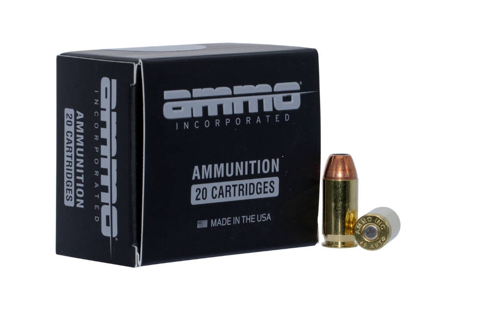Ammo Inc 45230JHPA20 American Hunter 45 Auto 230 GR Jacket Hollow Point 20 Bx/10 Cs