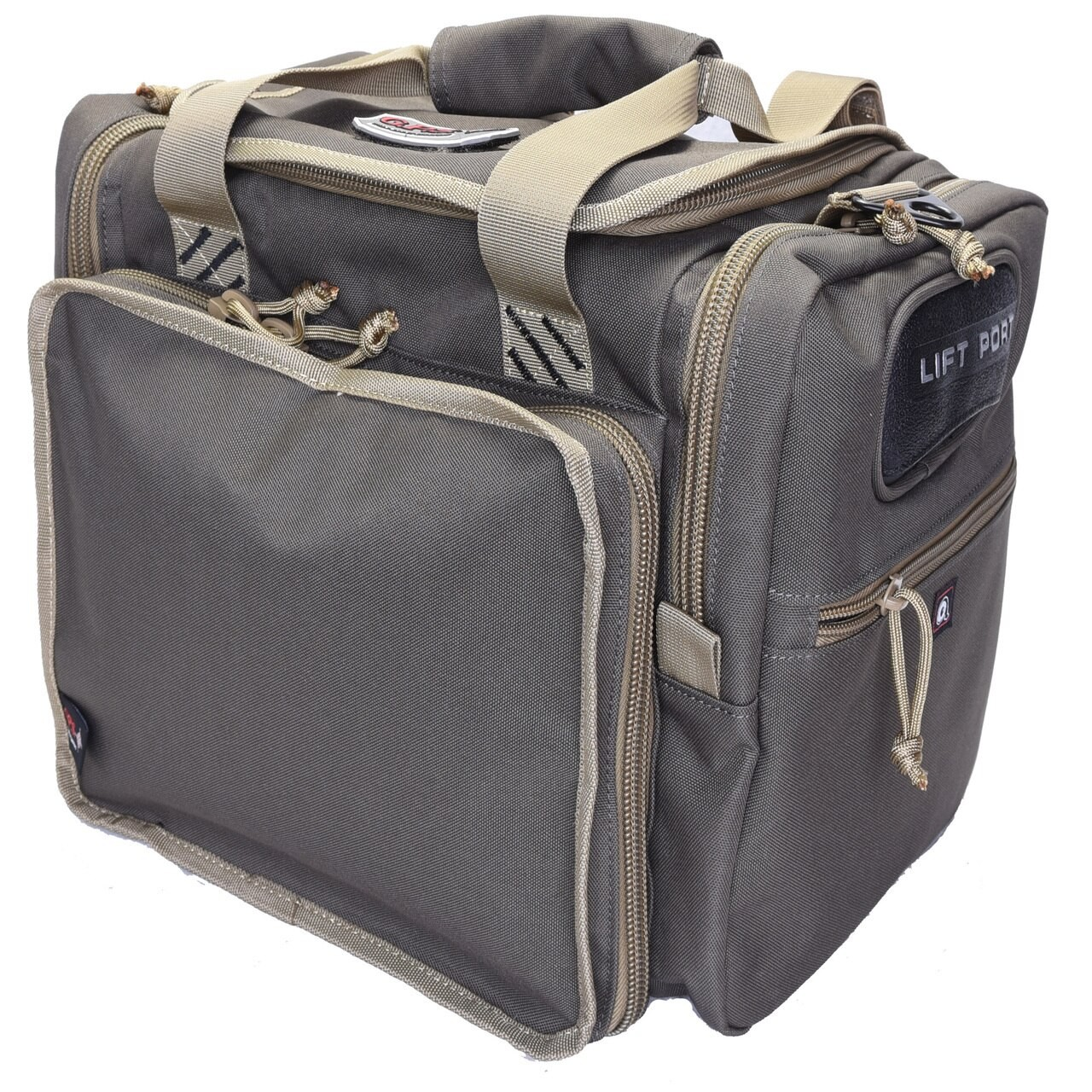 G Outdoors Lg Range Bag,Lift Ports,4 ammo Dump Cups