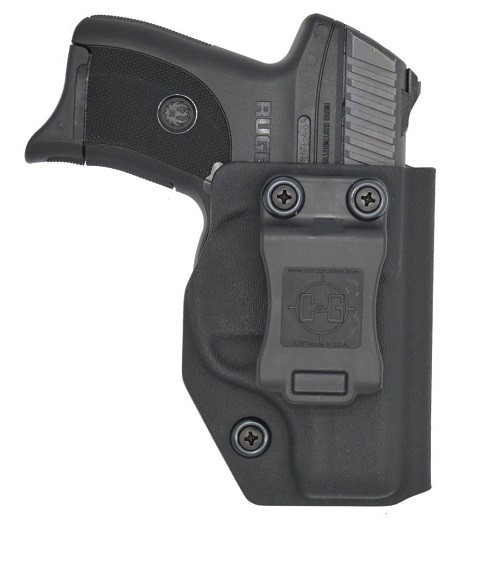 C&G HOLSTERS 032100 Covert IWB fits Ruger® EC9s/LC9 Kydex Black