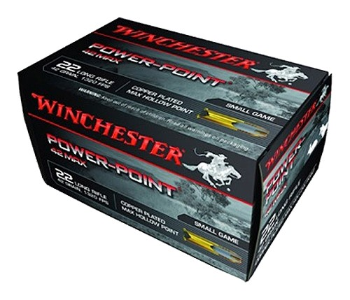Winchester Power-Point 22 Long Rifle 50rd Ammo