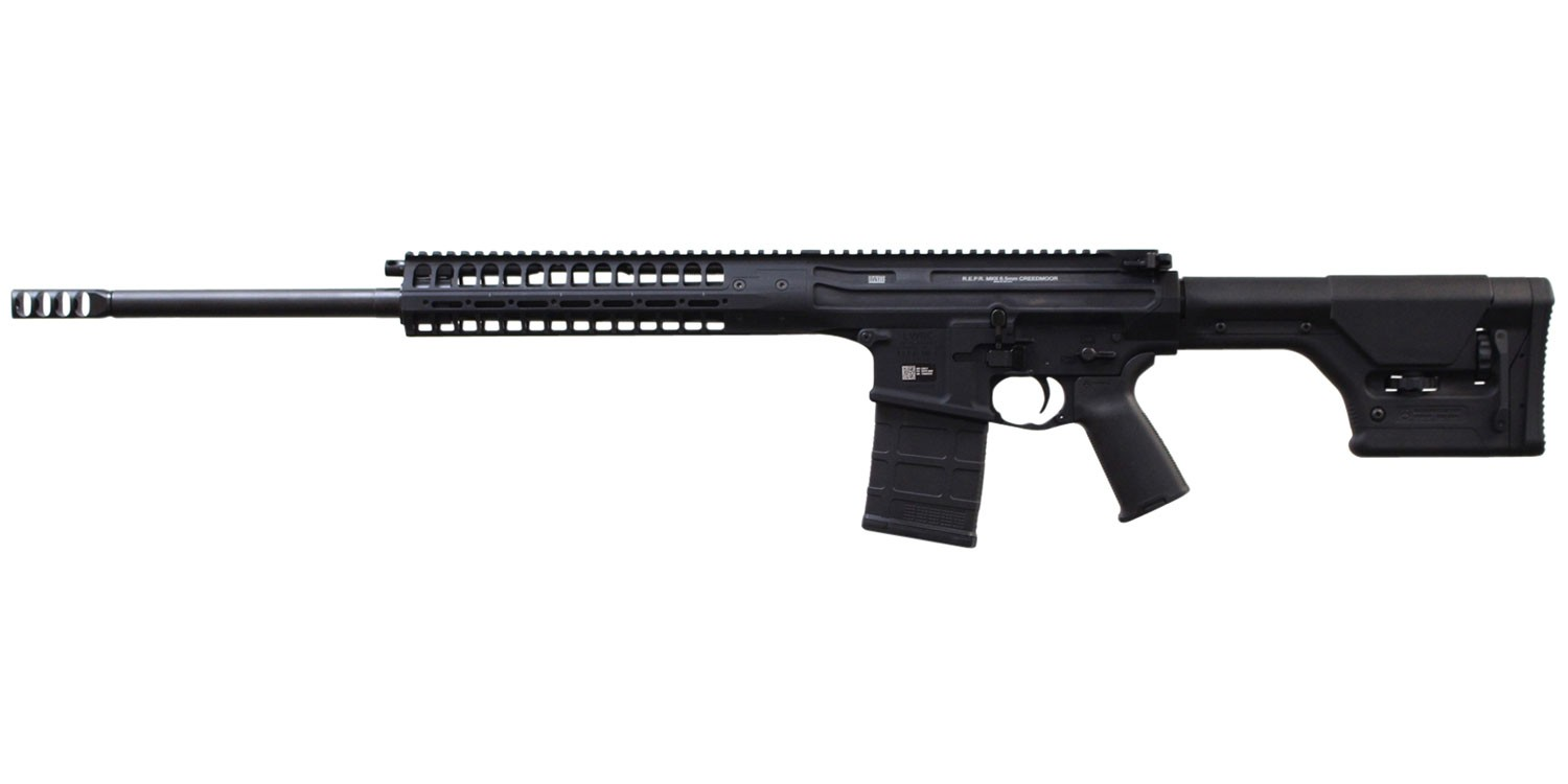 LWRC R.E.P.R. Side Charge 6.5 Creedmoor 22in. 20+1 Black Adjustable Magpul PRS Stock