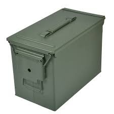 Reliant RRG-1009 -02 50 CAL METAL AMMO CAN FAT GN