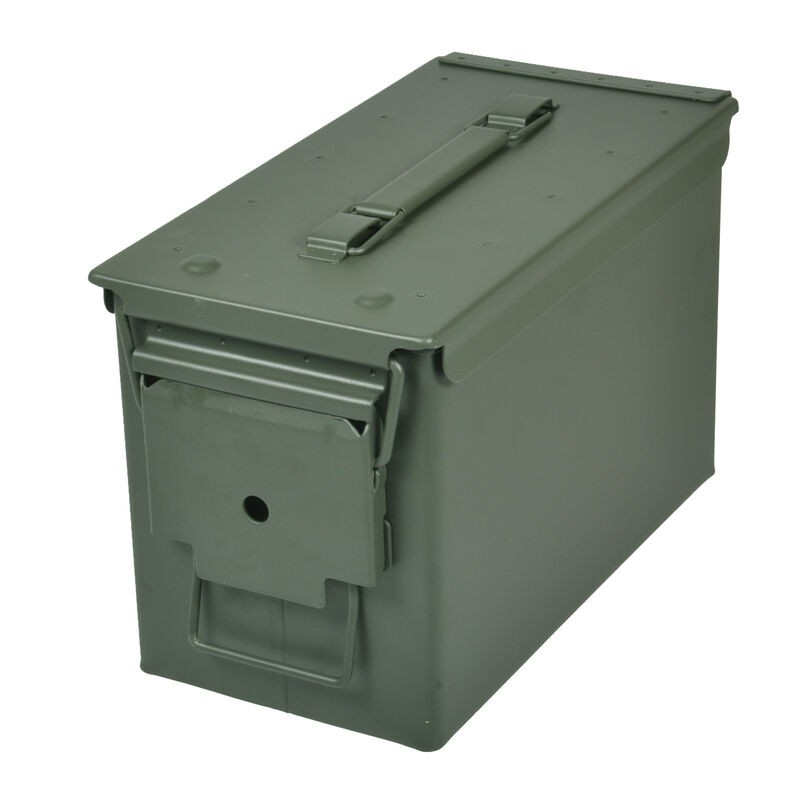 Reliant RRG-1008-02 50 CAL METAL AMMO CAN GRN