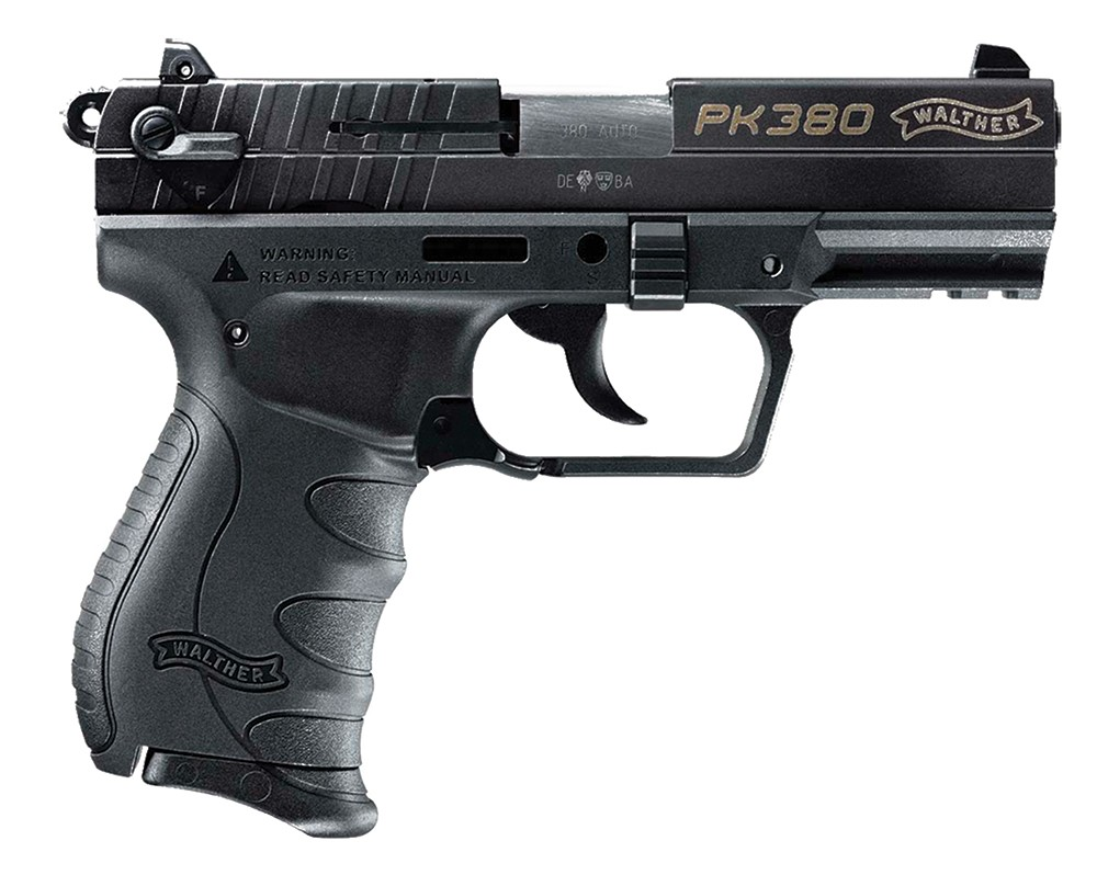 Walther PK380 Black 380 ACP