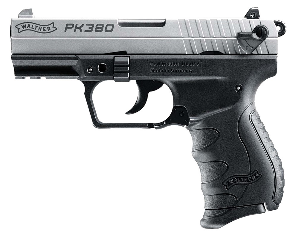 Walther PK380 Nickel 380 ACP