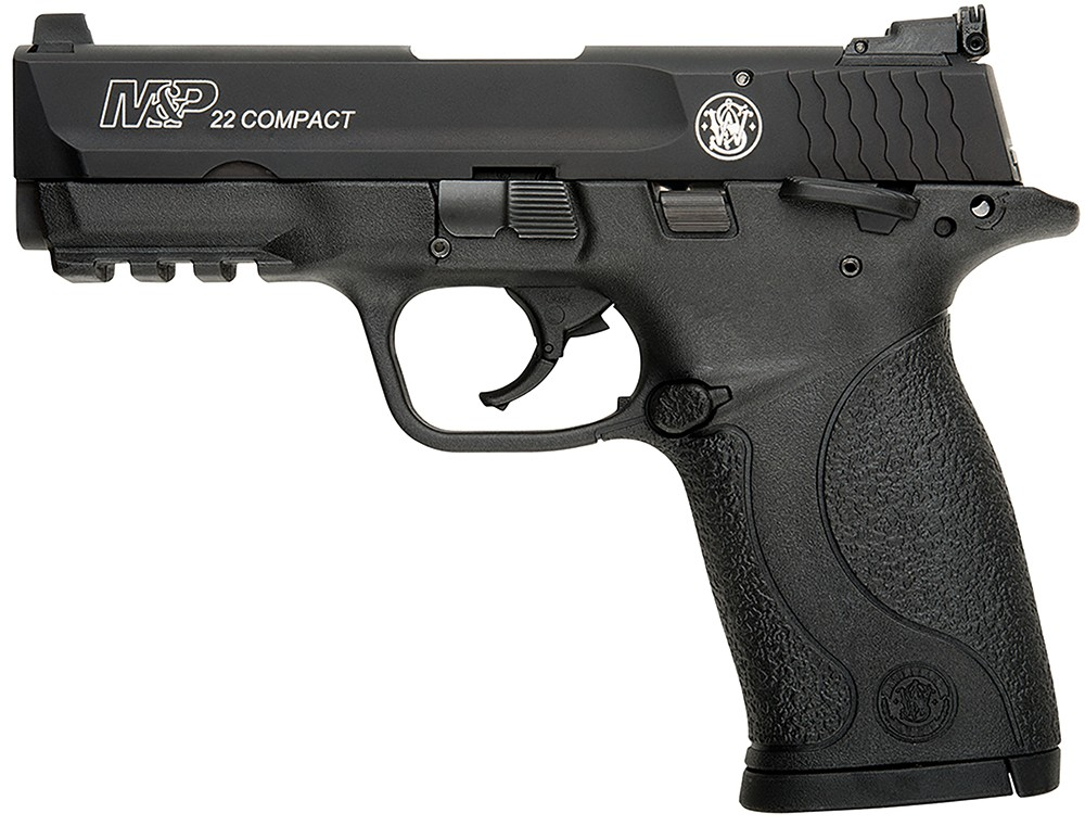 Smith & Wesson M&P22 Compact Manual Thumb Safety 22 LR
