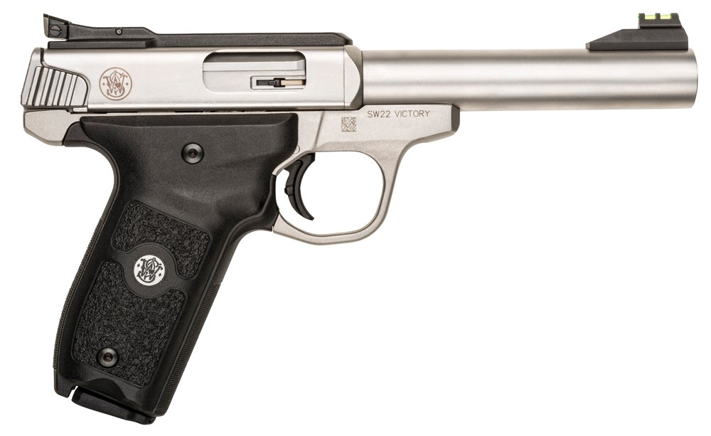 Smith & Wesson SW22 Victory Thumb Safety 22 Long Rifle Pisto